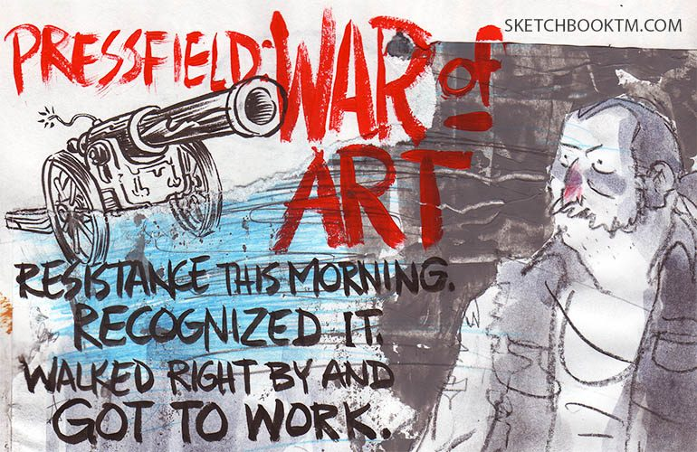 steven pressfield war of art